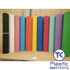 Tấm nhựa PP Mặt bóng - Mặt nhám (Nhiều màu, nhiều độ dày)