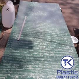 Thớt nhựa PP (Màu xanh) chất lượng cao - giá rẻ
