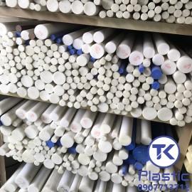 Cây nhựa tròn Teflon (PTFE) chất lượng cao - giá rẻ
