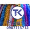 Màng PVC Kim tuyến (08 màu)
