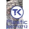 Lưới nhựa in chữ, hoa văn dùng làm quai giày dép, túi xách, bóp