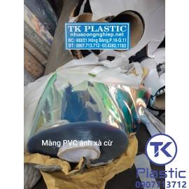 Màng nhựa PVC màu Hologram (Màu sắc lấp lánh)