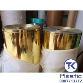 Màng PVC Cứng (Màu Nhũ Vàng)