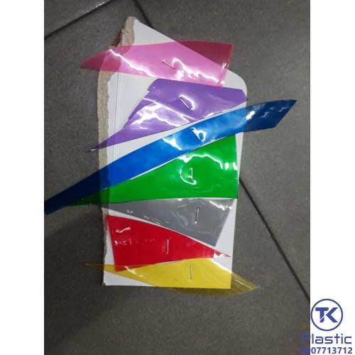 Màng nhựa PVC 0.5mm (7 màu) giá rẻ