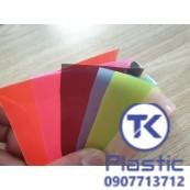 Màng nhựa PVC 0.5mm (06 màu pastel) giá rẻ