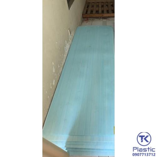 Tấm nhựa 2 mặt láng vân màu xanh chất lượng cao - giá rẻ