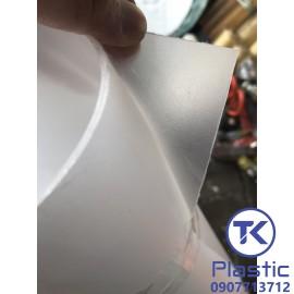 Tấm nhựa PP nhám mờ, xuyên đèn chất lượng cao - giá rẻ